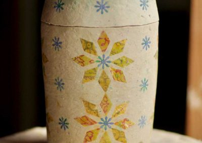 Lucy-Fagella-biodegradable-urn-star-quilt
