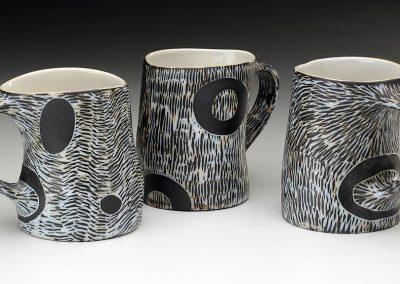 Sgrafitto Mugs by James Guggina