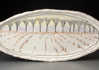 Large Platter by Donna McGee