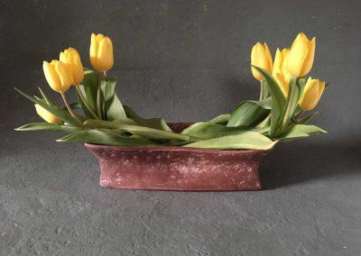 Barringer bowtie vase